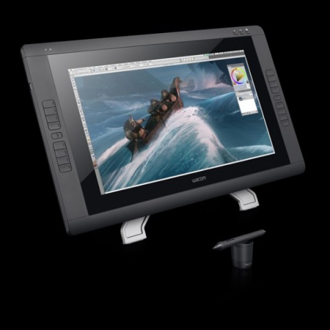 Wacom Cintiq 22HD Touch (Bild: Wacom)