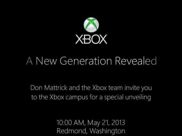 Einladung Xbox-Enthüllung (Bild: Microsoft)