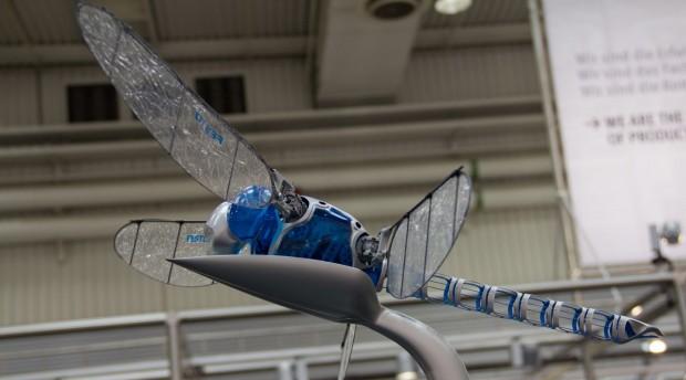 Der Bionicopter von Festo auf der Hannover Messe 2013 (Foto: Werner Pluta/Golem.de)
