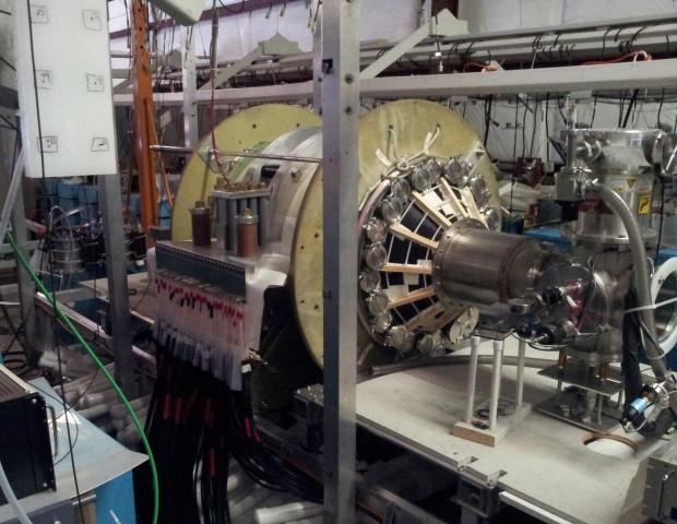 Prototyp des Triebwerks im Labor der Universität von Washington in Redmond (Bild: University of Washington/MSNW)