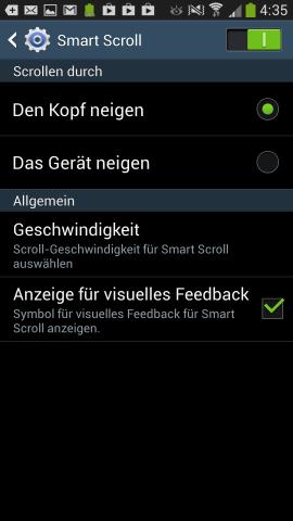 Dabei wird das Nicken des Kopfes abgelesen. (Screenshot: Golem.de)