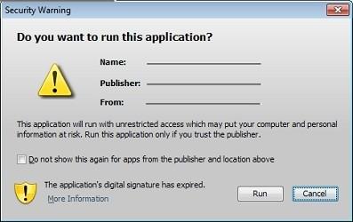 Die neuen Warnhinweise in Java 7 (Bild: Oracle)