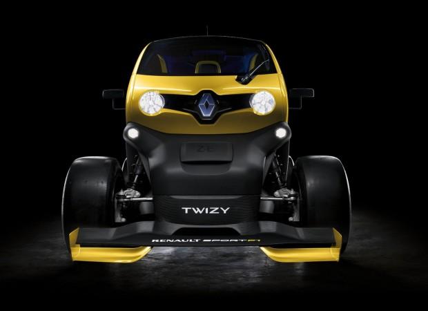 Der Twizy Renault Sport F1 wurde zum Renner aufgemotzt... (Foto: Renault)