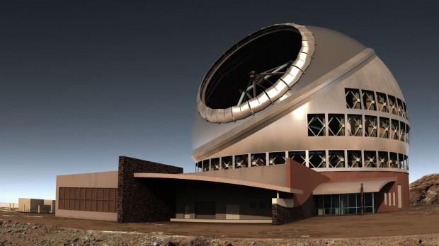 Das TMT wird auf dem Gipfel des etwa 4.200 Meter hohen Mauna Kea auf Hawaii gebaut. (Bild: TMT)