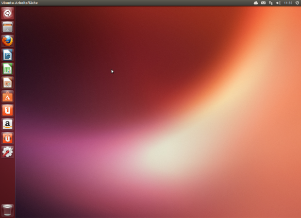 Ubuntu 13.04 alias Raring Ringtail...(Screenshot: Golem.de)