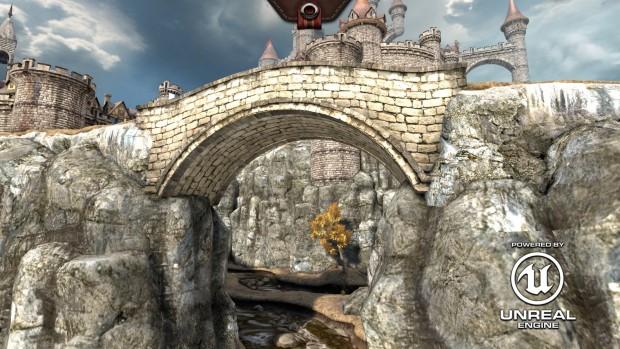 Epic Citadel läuft dank HTML5, WebGL und Javascript direkt im Browser. (Screenshots: Golem.de)