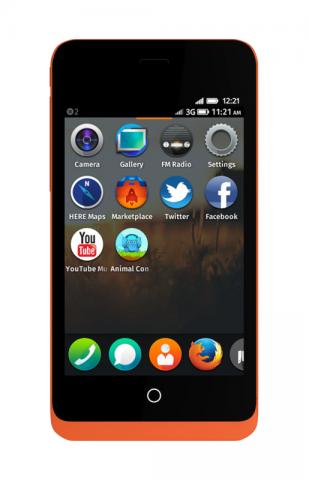 Firefox OS auf dem Geeksphone Keon (Bild: Geeksphone)