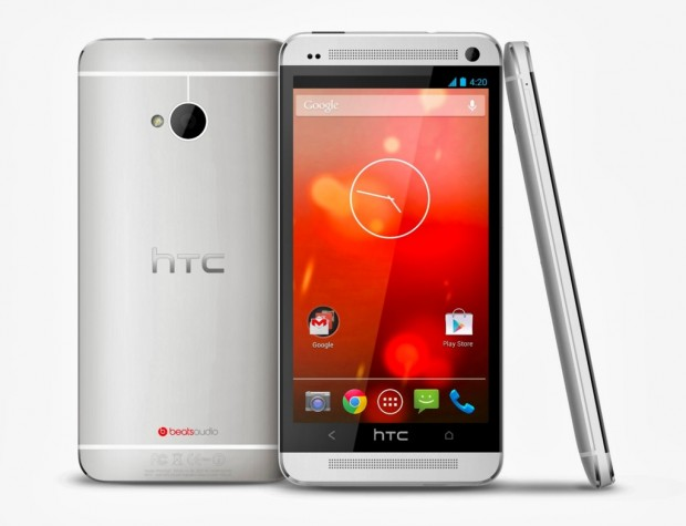 Google-Version des HTC One (Bild: Google)