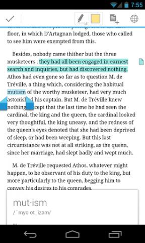 Play Books App auf einem Android-Smartphone (Bild: Google)