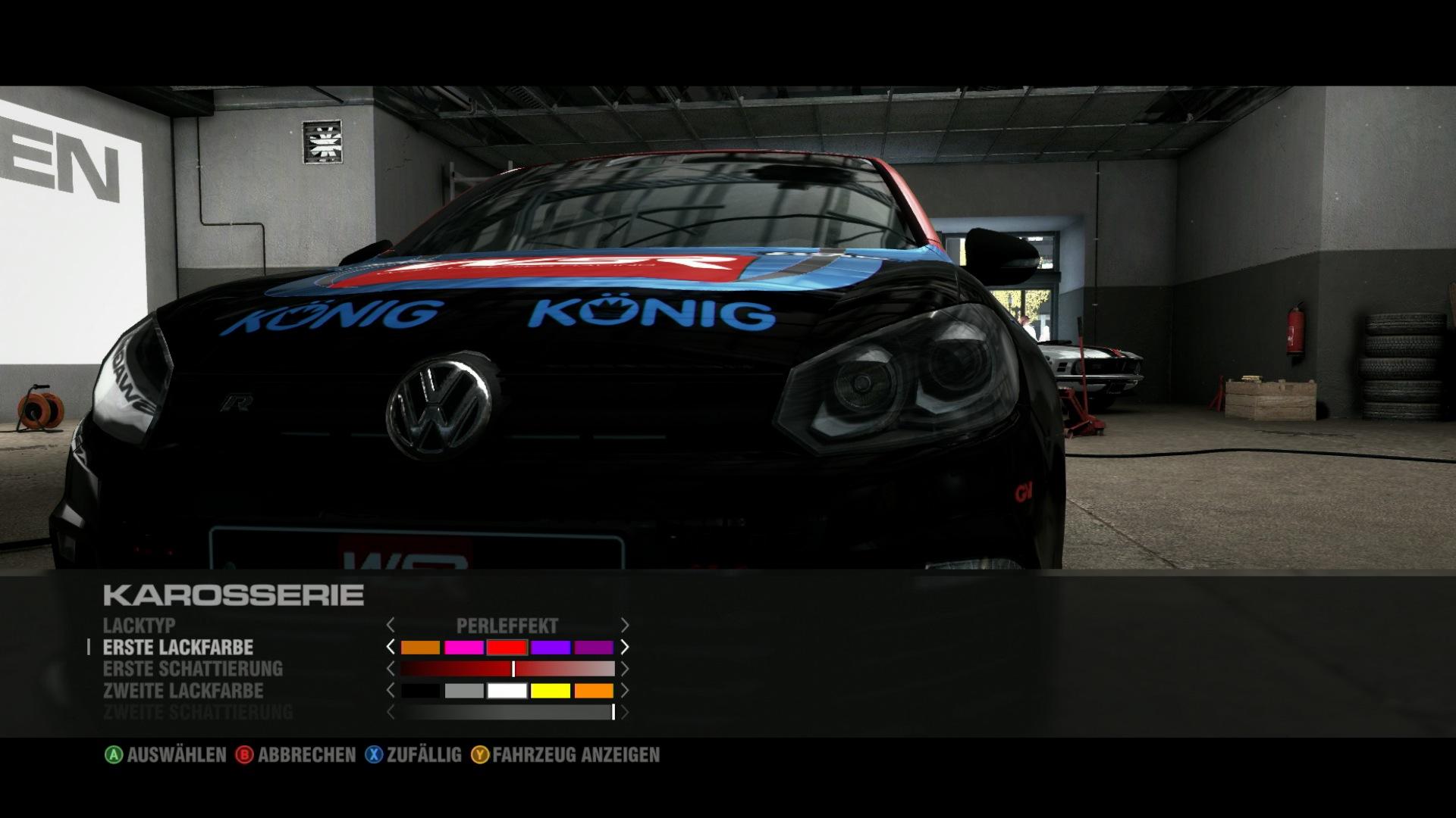 Test Grid 2: Rennspiel-Leichtgewicht für unterwegs - Im Saisonmodus wird das Auto mit Sponsoren zugeklebt.