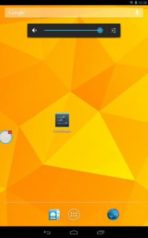 Die neue Halo-Benachrichtigungsfunktion von Paranoid Android zeigt über Blasen am Displayrand an, wenn neue Systembenachrichtigungen eintreffen. (Screenshot: Golem.de)