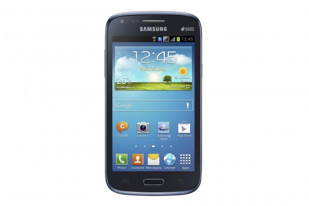 Das neue Samsung Galaxy Core hat einen 4,3 Zoll großen Bildschirm. (Bild: Samsung)