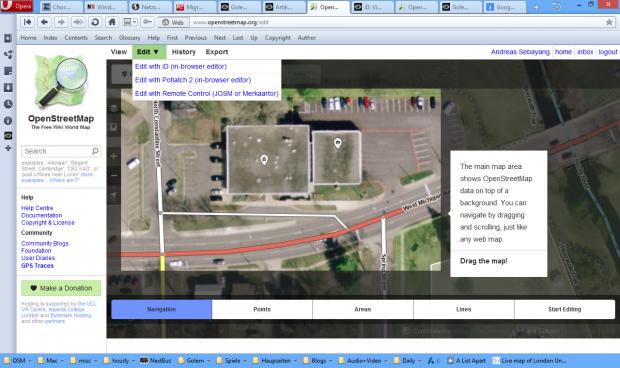 iD Editor (Screenshot: Golem.de)