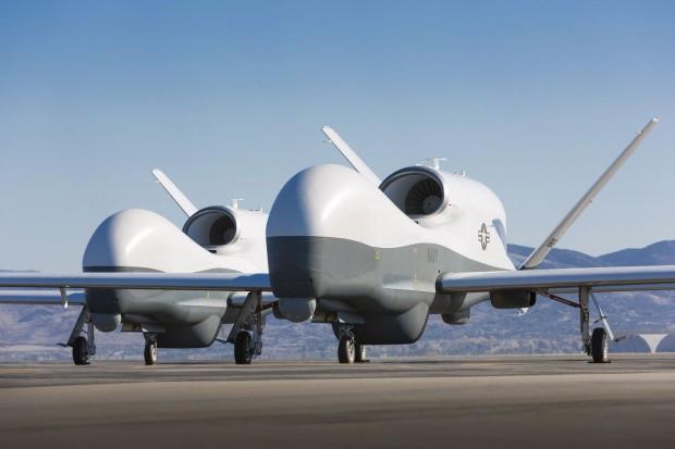 Die Drohne MQ-4C Triton von Northrop Grumman (Foto: Northrop Grumman)