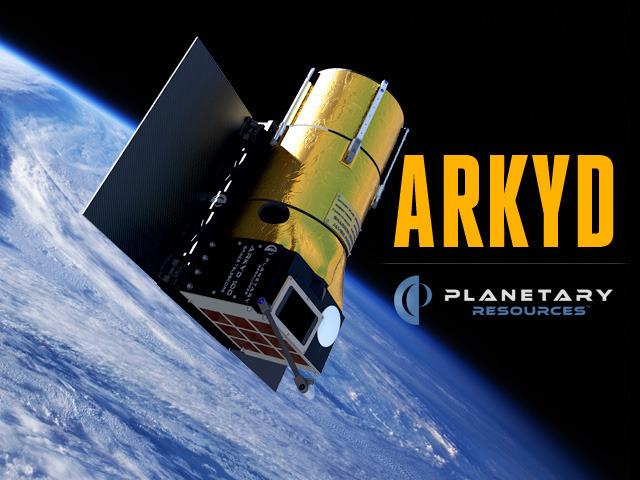 Crowdfunding: Planetary Resources porträtiert Geldgeber im All -