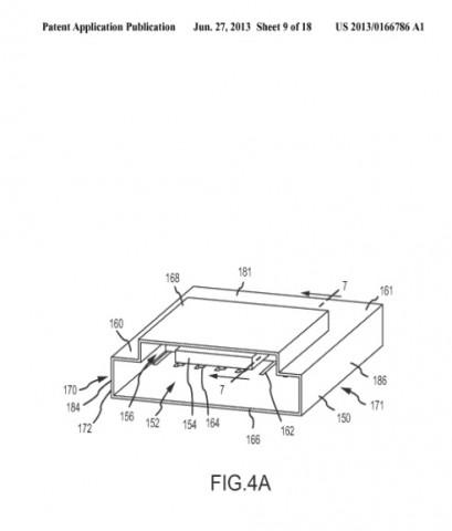 Patentantrag 20130166786 (Bild: US-Patent- und Markenamt)