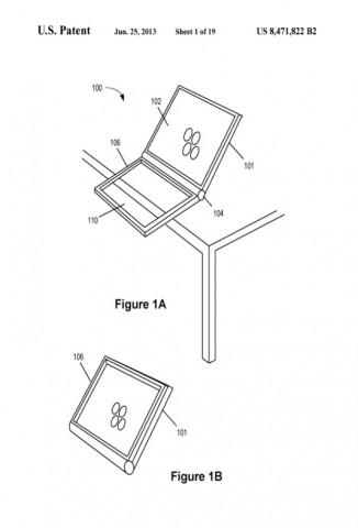 Patent 8,471,822 (Bild: US-Patent- und Markenamt)