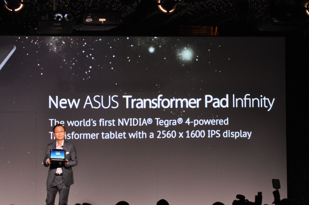 Asus: 3-in1-PC, Tegra-4-Tablet und Fonepad Note -