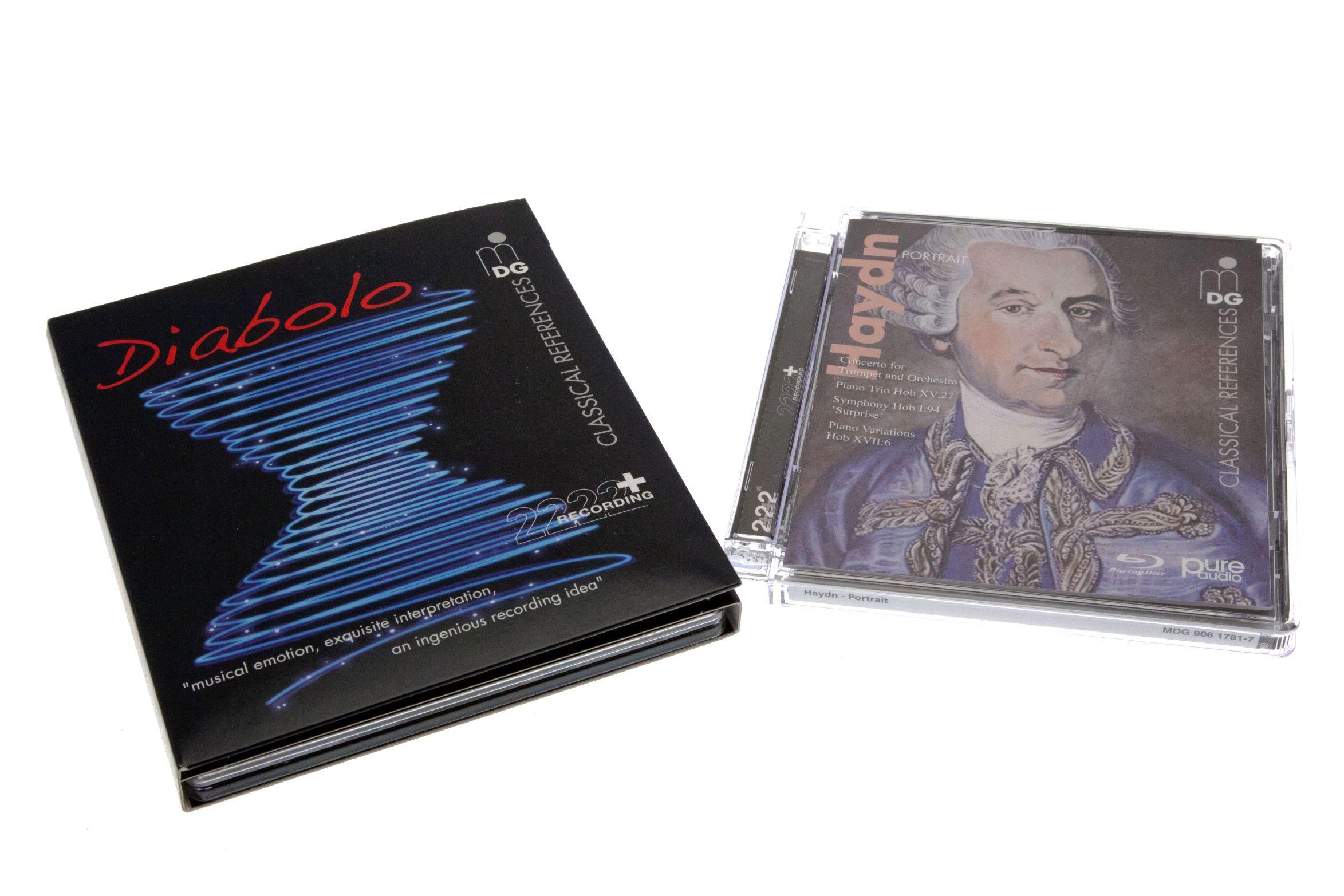 BD Pure Audio: Blu-ray-Alternative zur Super Audio CD -