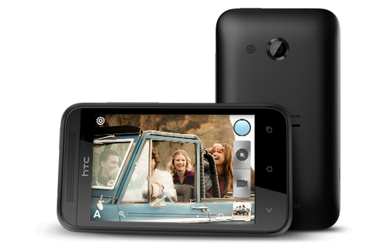 Das neue HTC Desire 200 (Bild: HTC)