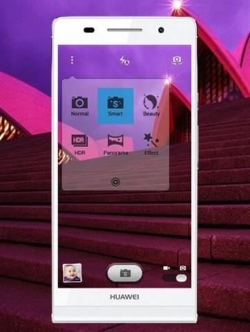 Das neue Huawei P6 (Bild: Huawei)