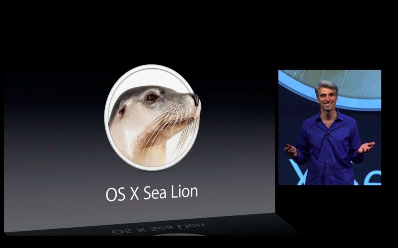 Mac OS X 10.9: Apple verkauft Mavericks ab Herbst 2013 - ...nicht Sea Lion,... (Apple/Screenshot: Golem.de)