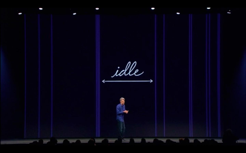 Apple: Mac OS X 10.9 kostet nichts - Mac OS X Mavericks soll den Akku schonen. (Apple/Screenshot: Golem.de)