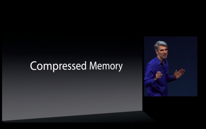 Apple: Mac OS X 10.9 kostet nichts - Compressed Memory soll Macs schneller machen. (Bild: Apple)