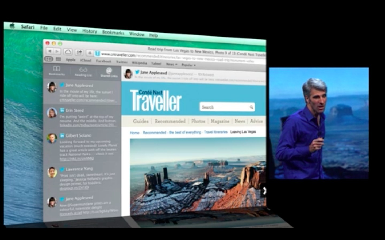 Apple: Mac OS X 10.9 kostet nichts - Neue Safari-Version (Bild: Apple)