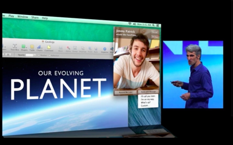 Mac OS X 10.9: Apple verkauft Mavericks ab Herbst 2013 - Benachrichtigungen in Mac OS X verbessert (Apple/Screenshot: Golem.de)