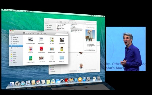 Finder mit Tabs (Apple/Screenshot: Golem.de)