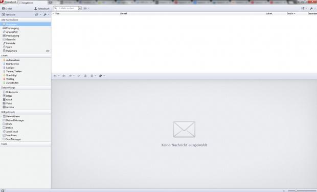 Opera Mail ist identisch mit dem bisher im Opera Browser verwendeten E-Mail-Plugin. (Screenshot: Golem.de)