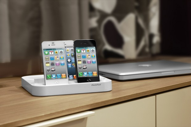 photofast ultradock ii eine ladestation f r zwei iphones und ein ipad. Black Bedroom Furniture Sets. Home Design Ideas
