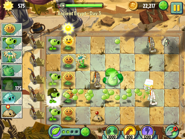 Plants vs. Zombies 2 (Bilder: EA)