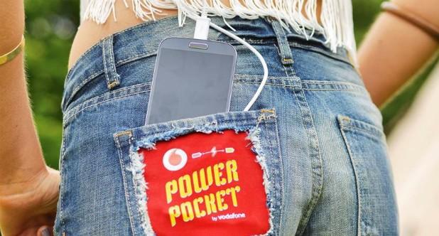 Hose mit thermoelektrischem Modul (Bild: Vodafone)