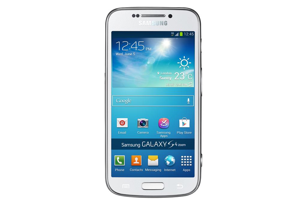 Galaxy S4 Zoom: Digitalkamera zum Telefonieren - Samsung Galaxy S4 Zoom (Bilder: Samsung)
