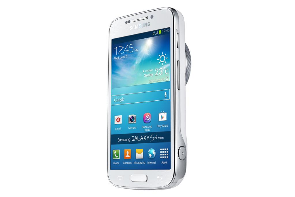 Galaxy S4 Zoom: Digitalkamera zum Telefonieren - Samsung Galaxy S4 Zoom
