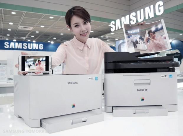Samsung-Serie Xpress C410W (Bild: Samsung)