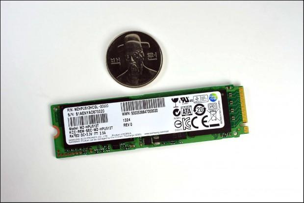 Die SATA-Express-SSD XP941 (Bilder: Samsung)