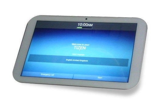 Tablet mit Tizen 2.1 (Bild: Systena)