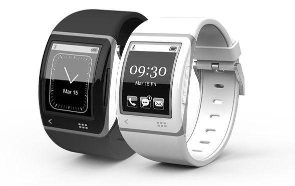 Smartwatch von Sonostar mit Mobius-Display von E-Ink (Bild: Sonostar)