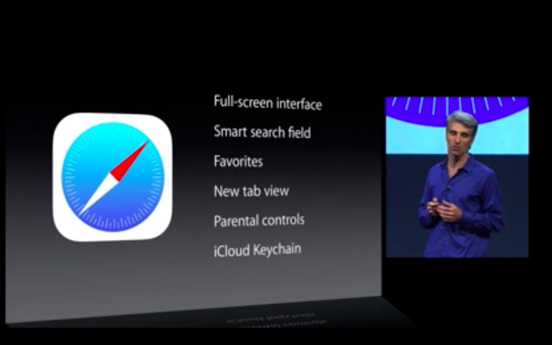 Apple: iOS 7 mit Multitasking und neuem Interface - Safari unter iOS 7 (Bild: Apple/Screenshot: Golem.de)