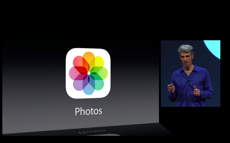 Apple: iOS 7 mit Multitasking und neuem Interface - iOS 7 mit neuer Fotos-App (Bild: Apple/Screenshot: Golem.de)