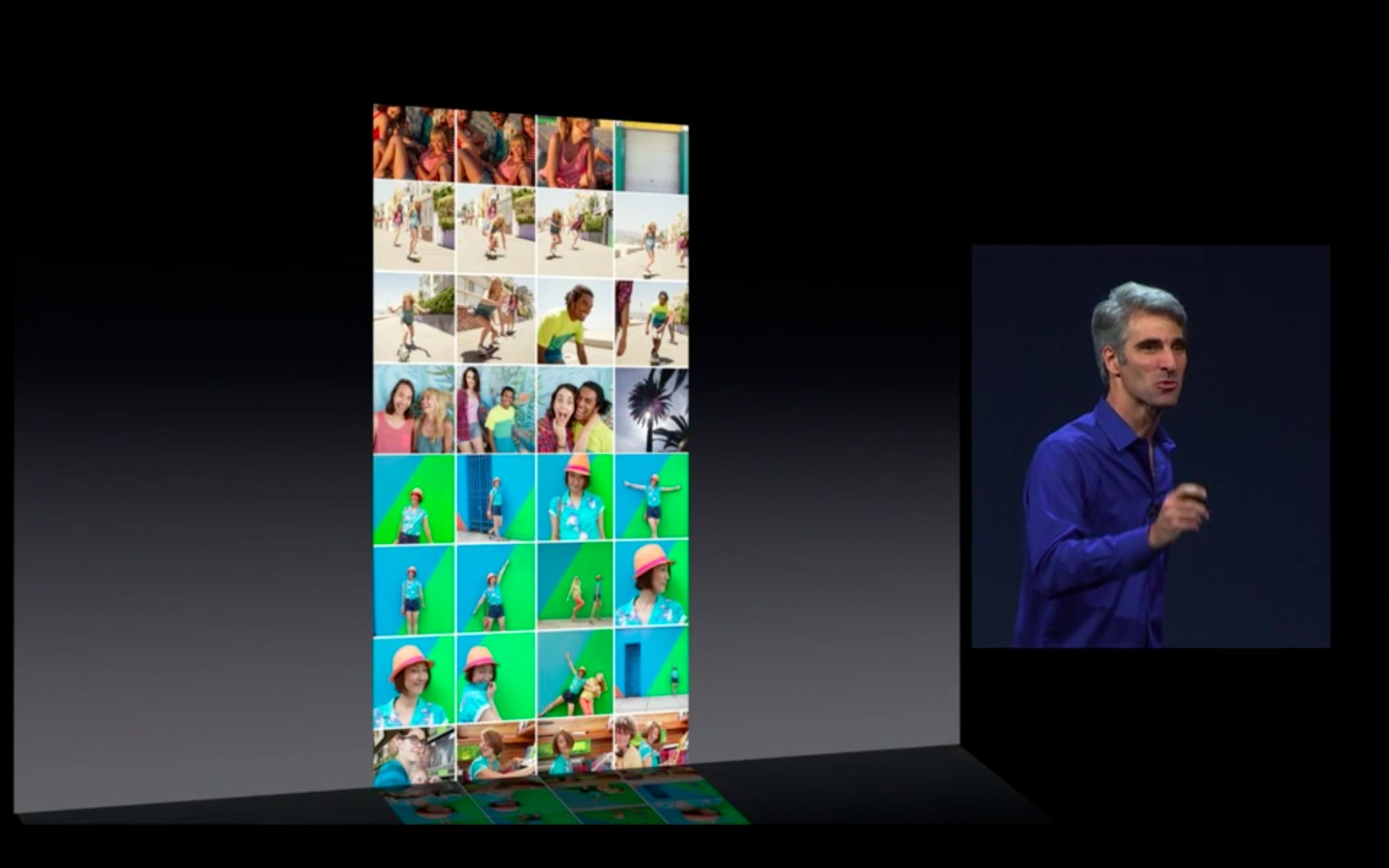 Apple: iOS 7 mit Multitasking und neuem Interface - Lange Listen... (Bild: Apple/Screenshot: Golem.de)