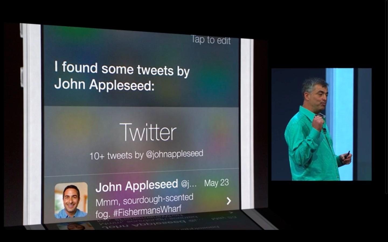 Apple: iOS 7 mit Multitasking und neuem Interface - Siri beherrscht unter iOS 7 neue Befehle. (Bild: Apple/Screenshot: Golem.de)