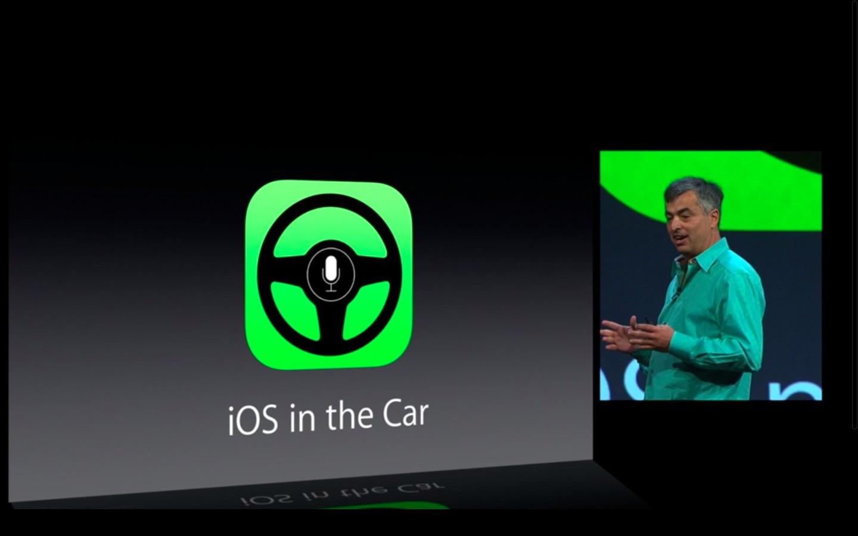 Apple: iOS 7 mit Multitasking und neuem Interface - Apple will mit iOS ins Auto. (Bild: Apple/Screenshot: Golem.de)