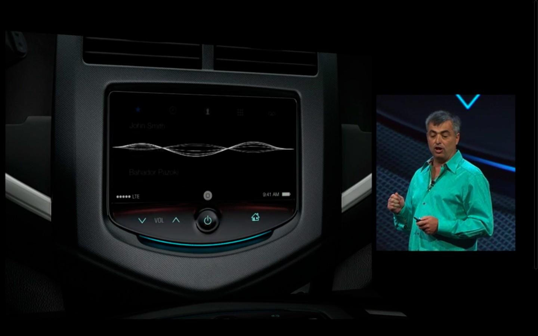 Apple: iOS 7 mit Multitasking und neuem Interface - Siri im Auto (Bild: Apple/Screenshot: Golem.de)