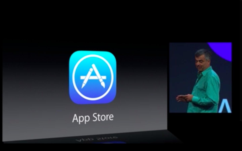 Apple: iOS 7 mit Multitasking und neuem Interface - App Store in iOS 7... (Bild: Apple/Screenshot: Golem.de)