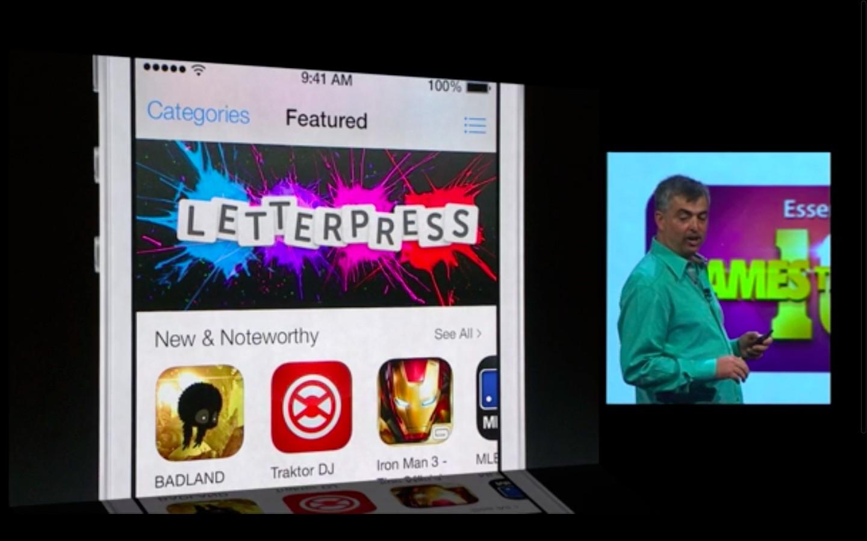 Apple: iOS 7 mit Multitasking und neuem Interface - ...im neuen Gewand (Bild: Apple/Screenshot: Golem.de)