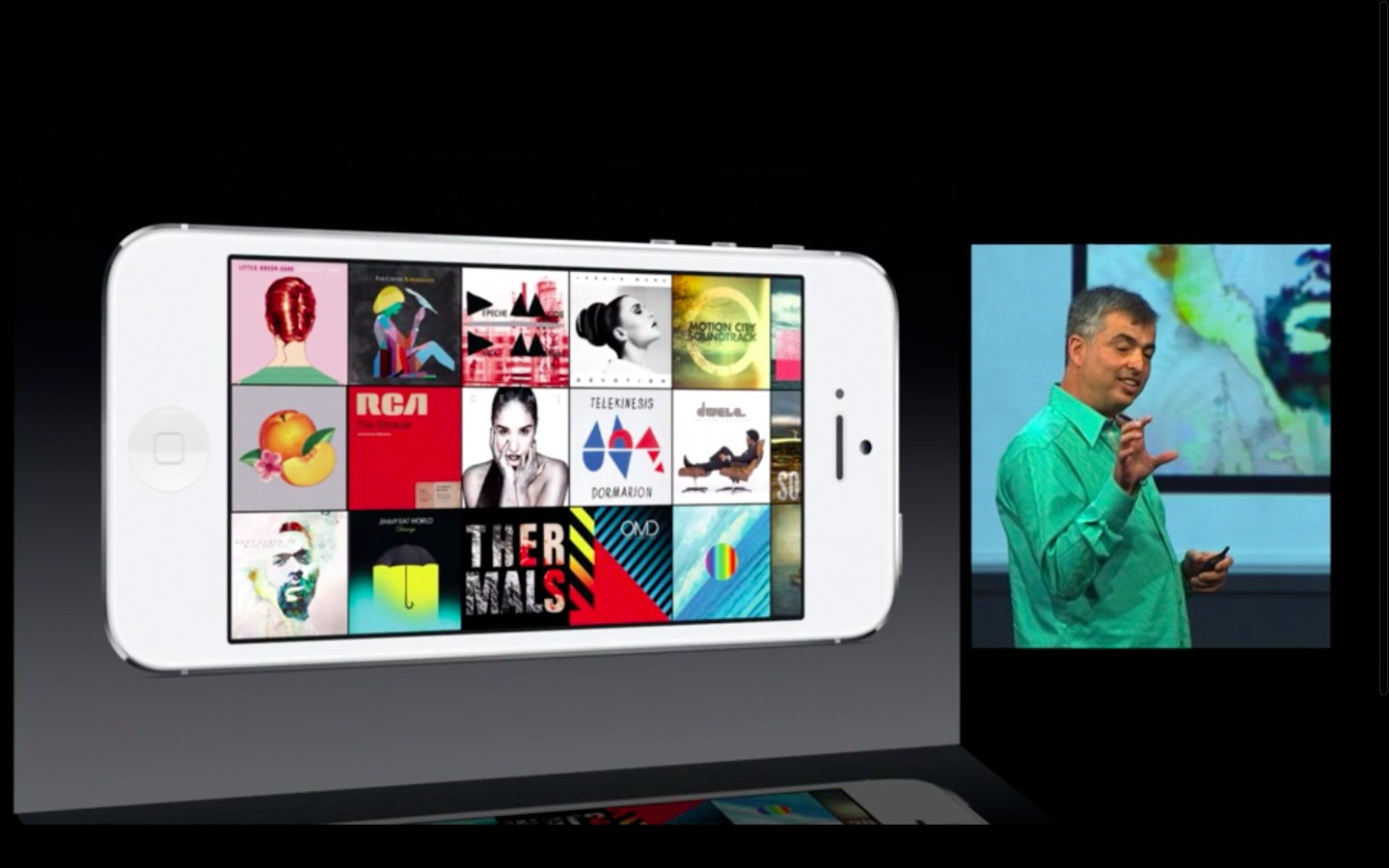 Apple: iOS 7 mit Multitasking und neuem Interface - iOS 7 (Bild: Apple/Screenshot: Golem.de)